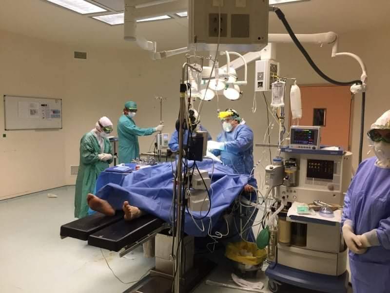Επιτυχημένη νευροχειρουργική επέμβαση σε συνθήκες covid-19 στο Π.Γ.Ν. Αλεξανδρούπολης